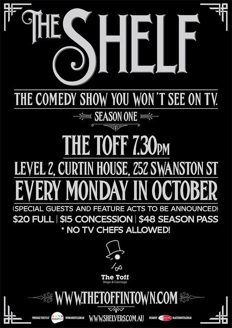 The Shelf | Poster  on Flickr.  #work #comingsoon   Visit  www.shelvers.com.au