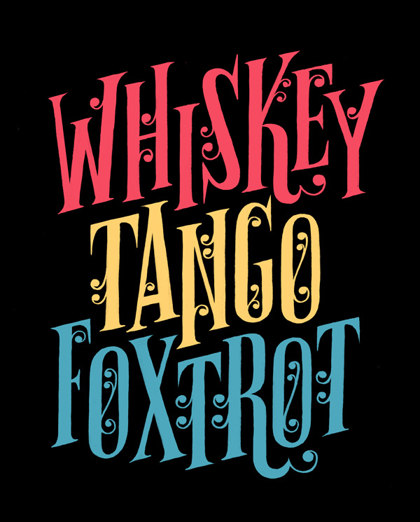 c86 :     Whiskey Tango Foxtrot   via  Esther Aarts