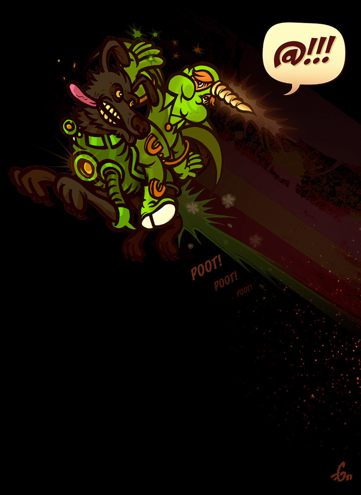 The Green Unicorn  #fistbumps