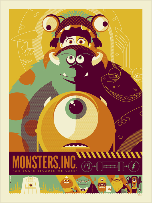 Tom Whalen's Monsters Inc.