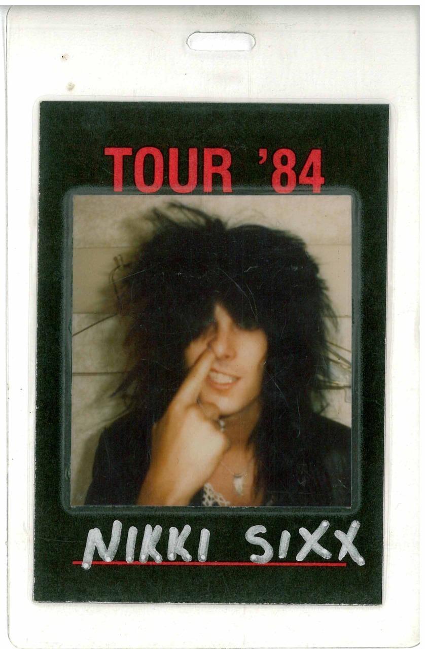 nsixxfoto :     1984.Snot nosed kid….   ©Nikki Sixx