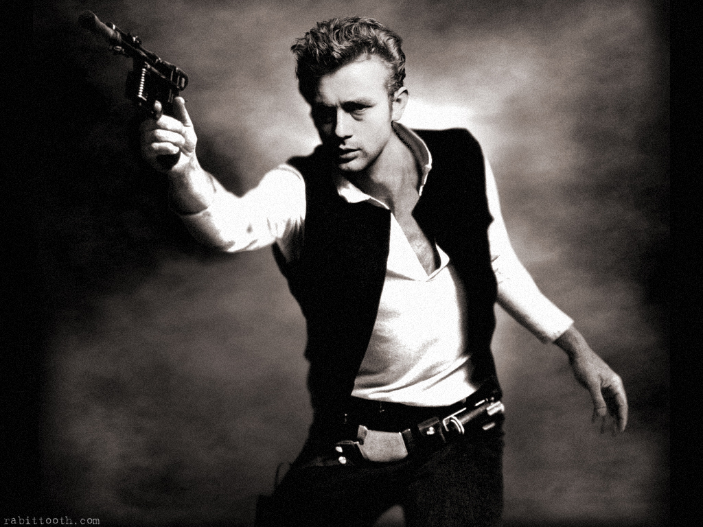 pacalin :       James Dean as Han Solo   - by  Rabittooth