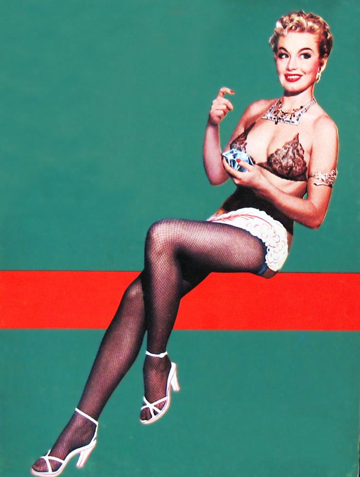 vintagegal :     Lili St. Cyr burlesque dancer, 1950's
