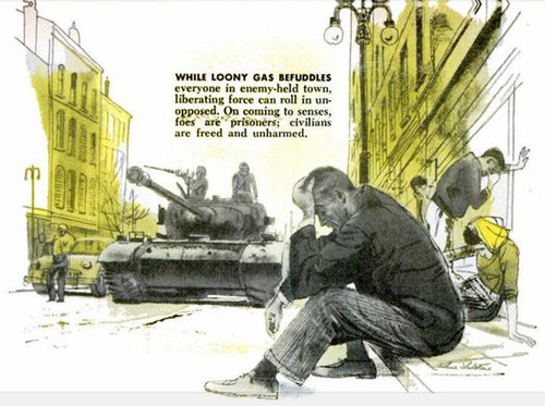parapolitical :     LSD Gas Bombs (1960) [ Popular Science ]