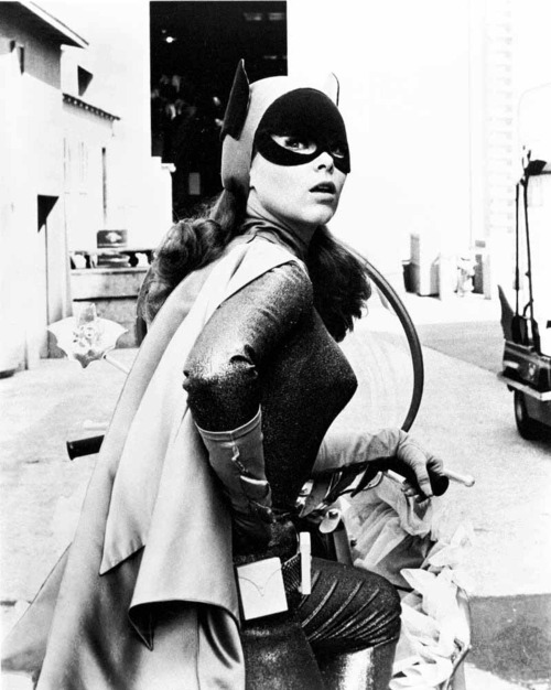 theswingingsixties :     Yvonne Craig as Batgirl.