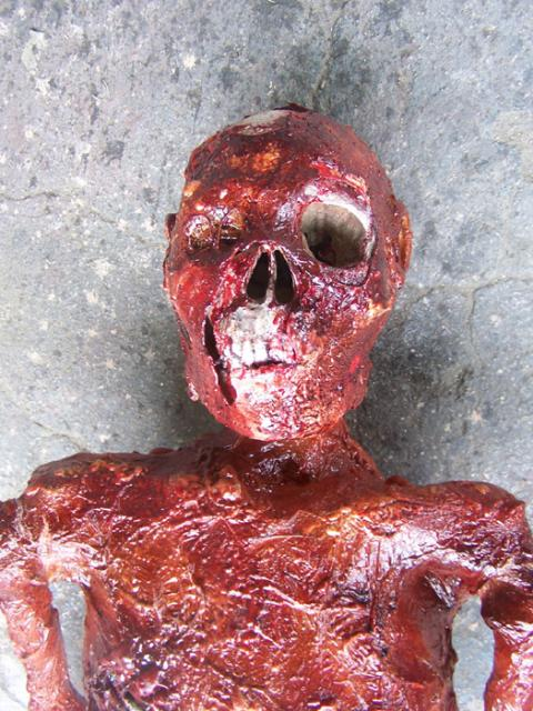 Casualty Simulation:  Acid Mummy  #METAL