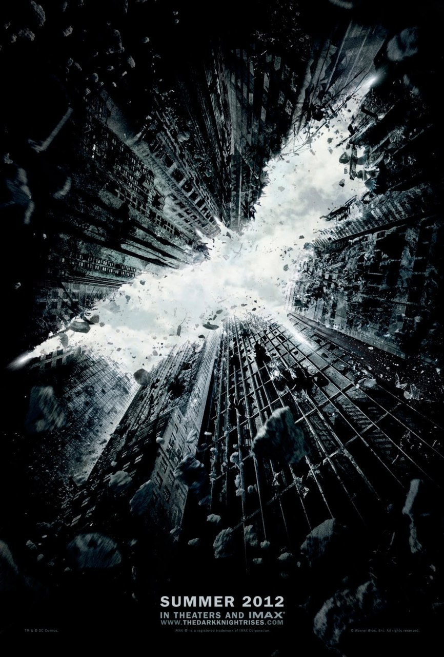 iheartchaos :      The Dark Knight Rises teaser poster revealed    So I got so caught up in the IHC comic book movie database that I almost forgot to post this today— behold, the first teaser poster for The Dark Knight Rises. That's fucking badass.    Via