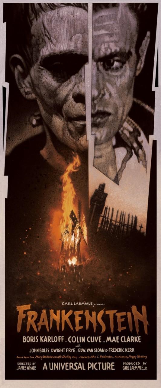 Drew Struzan 'Frankenstein'
