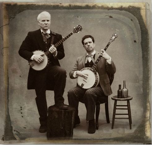 laughingsquid :      Steve Martin and Ed Helms Photographed by Sam Jones for Rolling Stone Magazine
