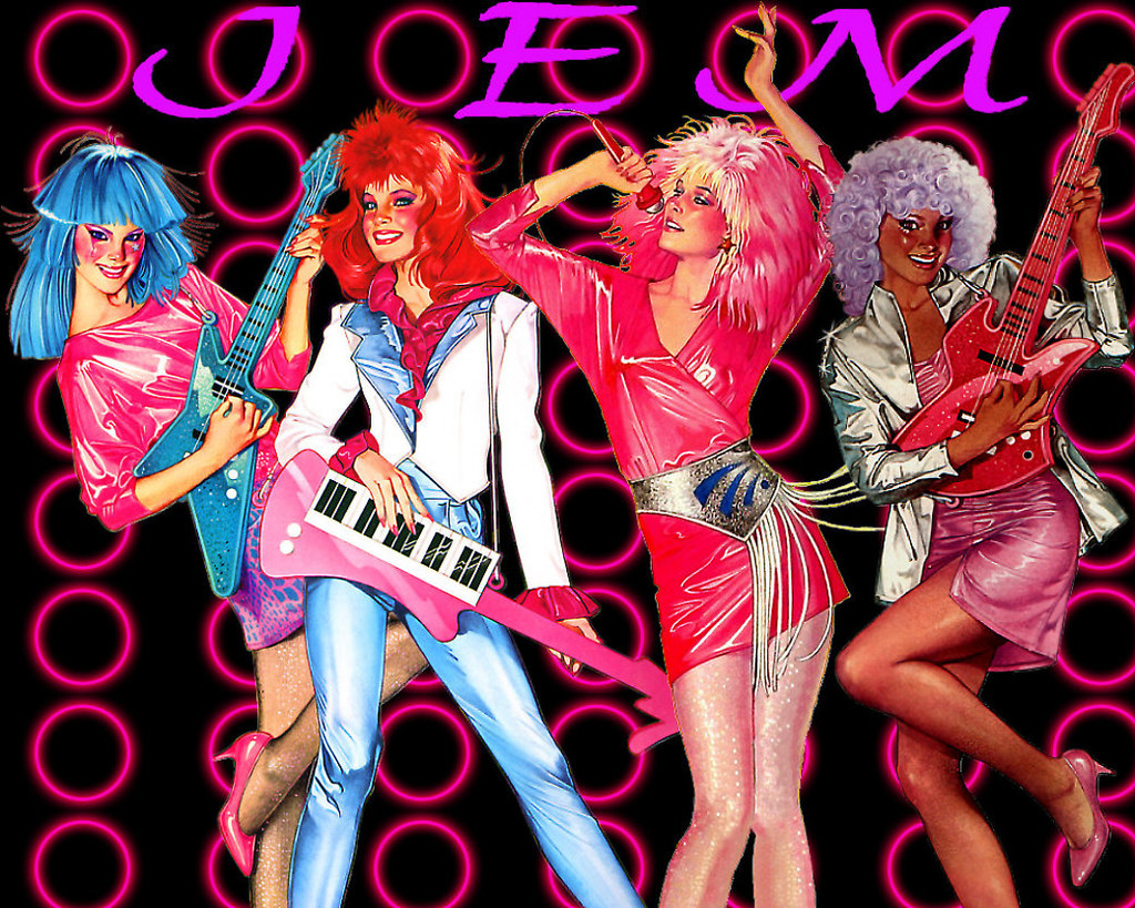 Jem & The Holograms  #research #totally