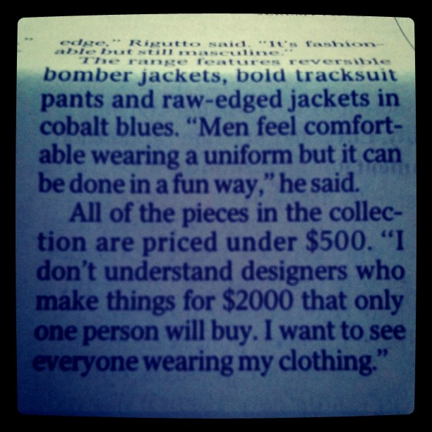 #firstworld #delusions #fashion (Taken with  instagram )