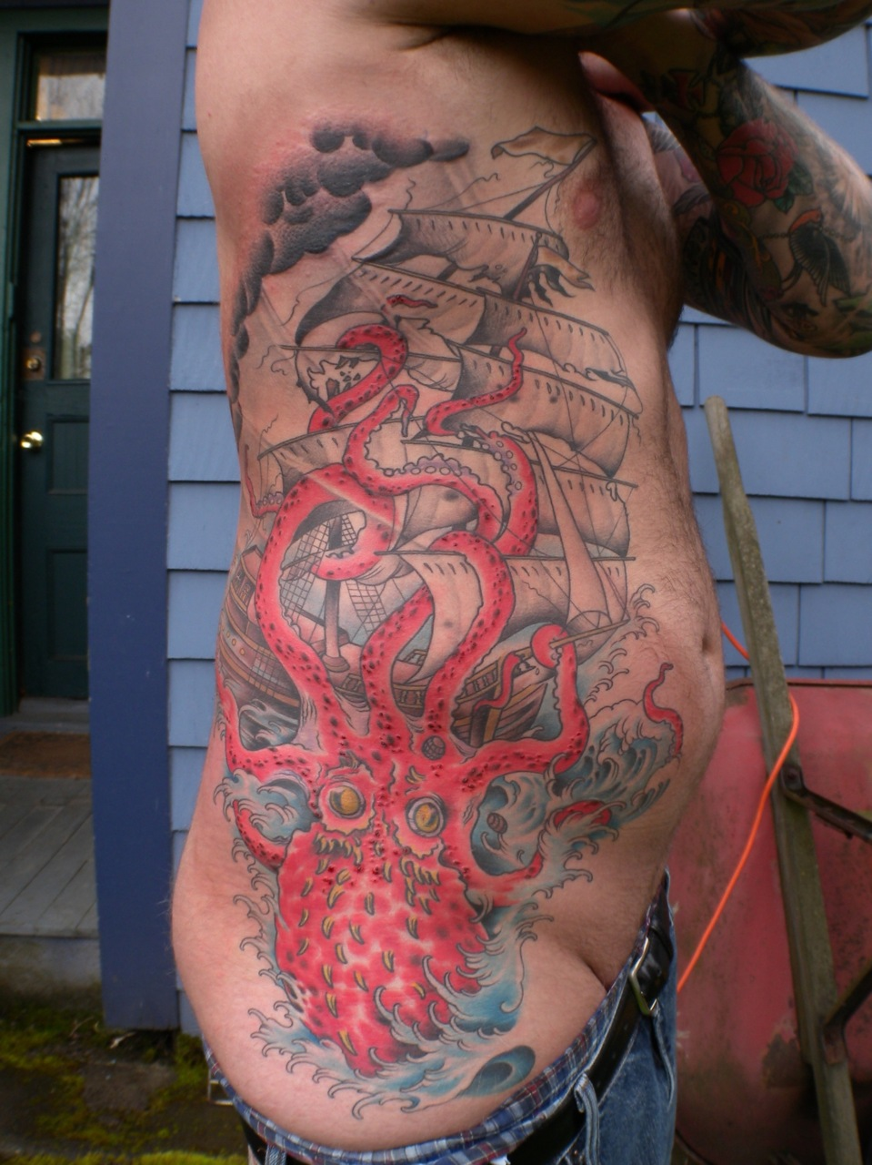 fuckyeahtattoos :     jacobredmond.com, atlastattoo.com, redmondjacob.tumblr.com     #nightmarefuel