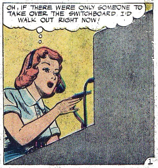 comicallyvintage :     Myrtle had not really got the idea of 'strike action'.