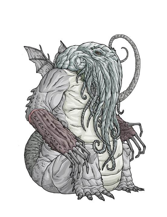 laughingsquid :      Mike Bukowski Is Making Drawings All of H. P. Lovecraft's Creatures