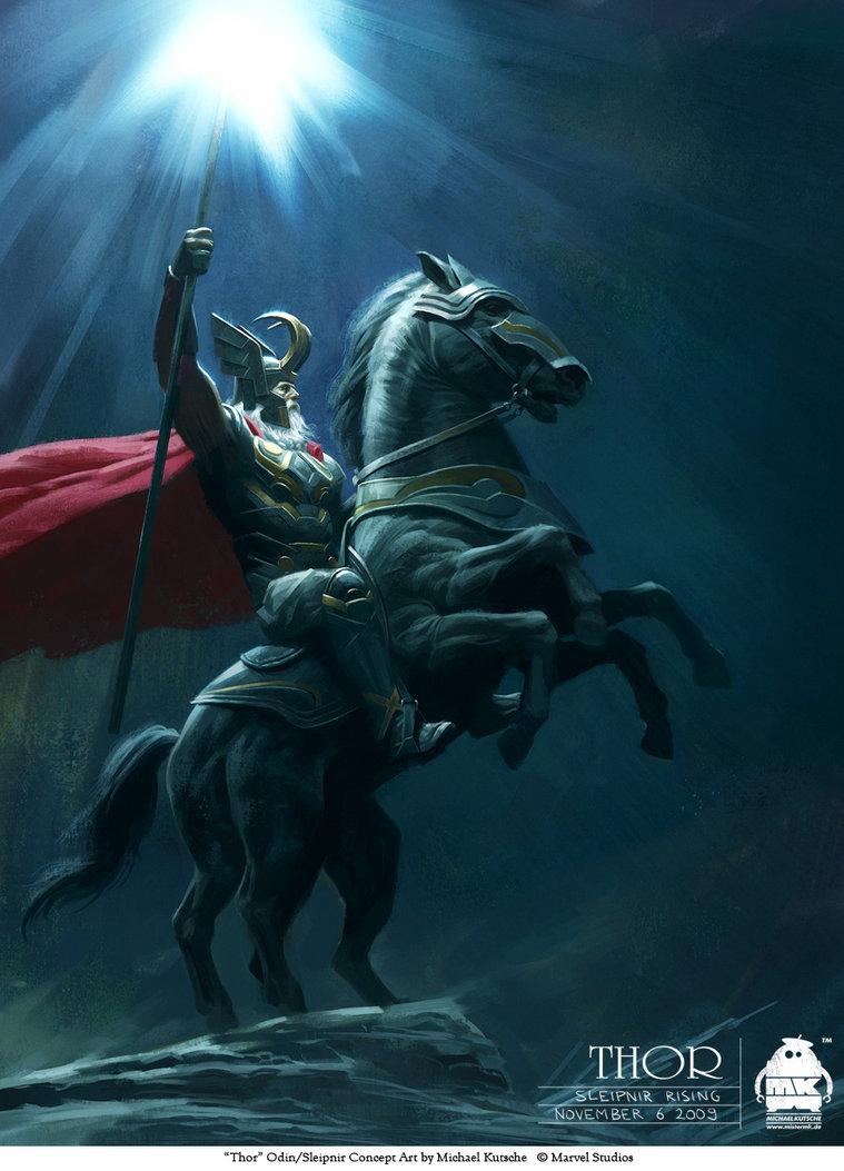 Odin + Sleipnir