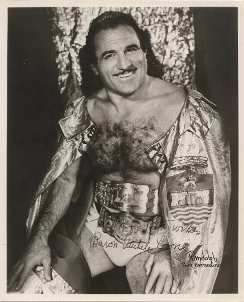 Baron Leone, Wrasslah #manspiration