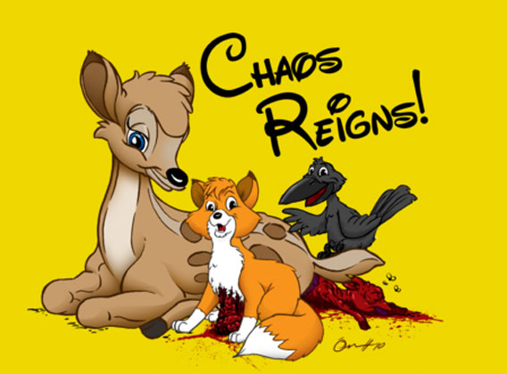 Chaos Reigns Tee