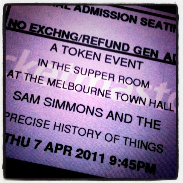See this. (Taken with  Instagram  at Melbourne Town Hall)