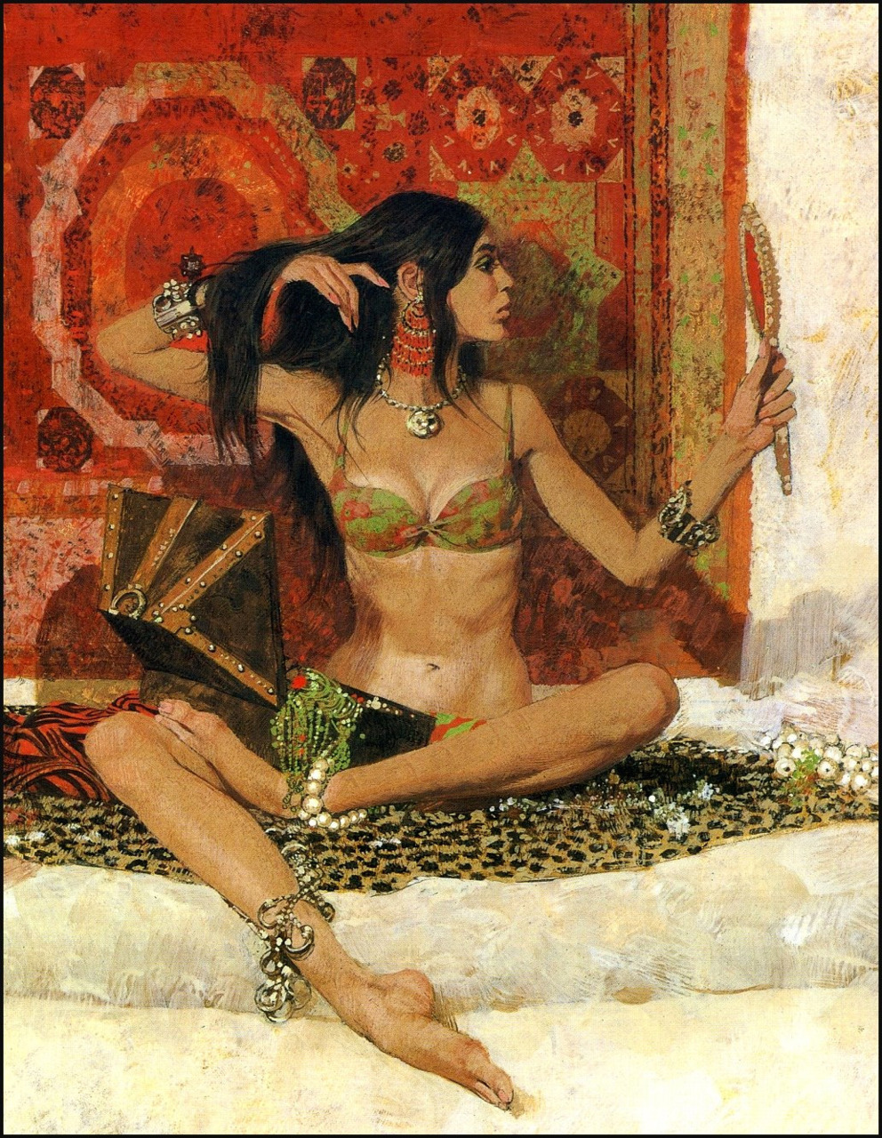 houseofskullingtondeep :     I could post Robert McGinnis all day I.