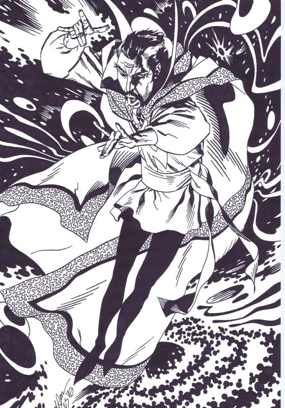 awyeahcomics :     Doctor Strange by Michael Golden