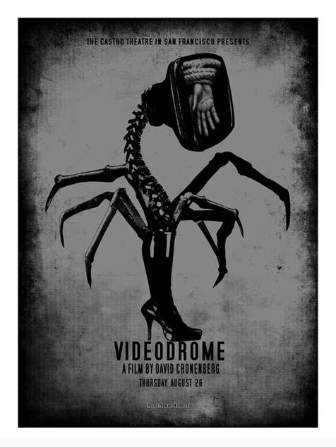 Videodrome, by David O'Daniel   Via  Badass Digest