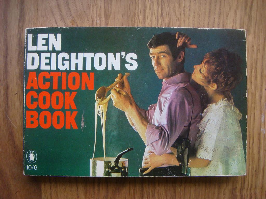 Len Deighton's Action Cookbook   Via  http://www.flickr.com/photos/russelldavies/