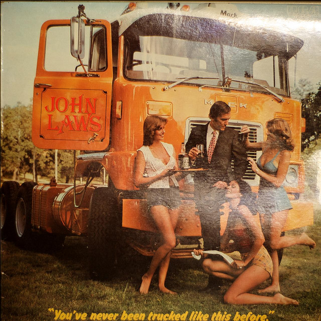 John Laws' 'You've Never Been Trucked Like This Before'   Viahttp://my-retrospace.blogspot.com/