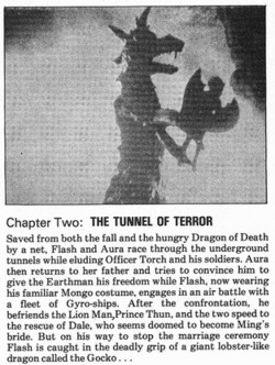 monsterman :      Flash Gordon (The 1936 Universal Serial)   Chapter Two: The Tunnel of Terror