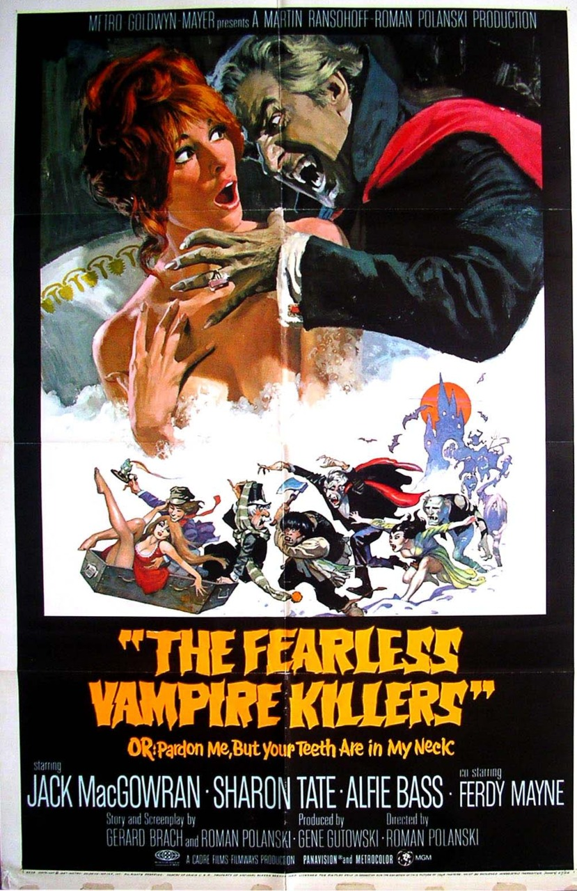Fearless Vampire Killers   Via http://nickdrake.tumblr.com/post/3927557845/the-fearless-vampire-killers-originally-titled