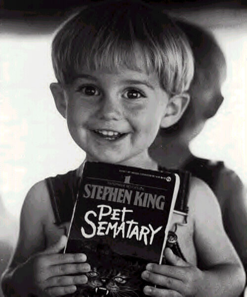 bohemea :     Miko Hughes played Gage in  Pet Sematary  & Dylan in  New Nightmare . That kid has my childhood! Except that he's 8 years younger than me. I guess Drew Barrymore has my childhood. I would have lived the hell out of Drew Barrymore's childhood! What am I saying? Oh! So anyway, this kid is awesome! He got to work with Stephen King  and  Freddy before the age of 10. Miko is interviewed in the  Never Sleep Again  documentary & is very adorable & enthusiastic about his part in the series.