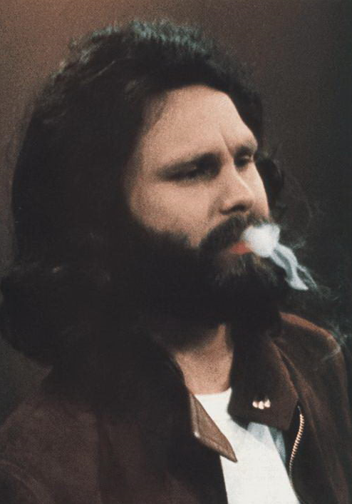 #beardspiration    nickdrake :     Jim Morrison.