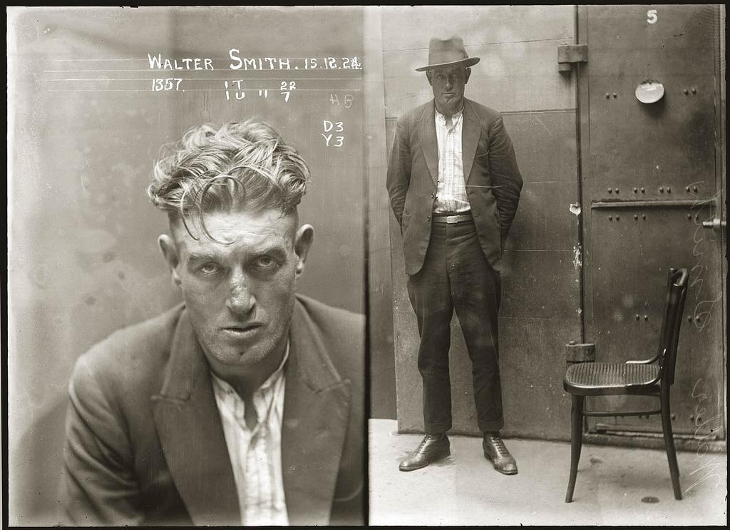 Portraits de criminels australiens dans les annees 1920    Viahttp://www.laboiteverte.fr/portraits-de-criminels-australiens-dans-les-annees-1920/#more-8090