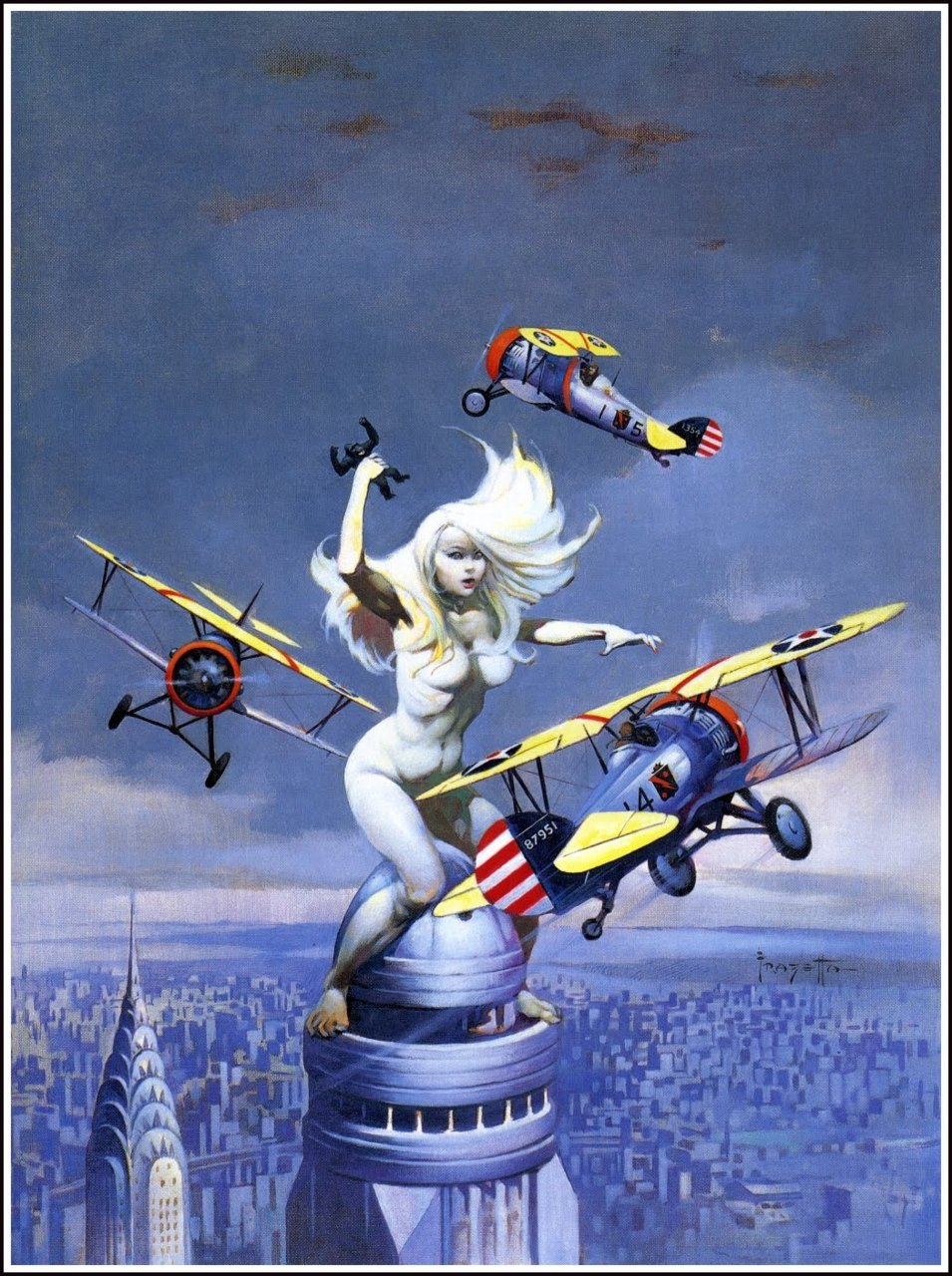 Frank Frazetta Eerie Covers   Via  http://bit.ly/i4RgyN