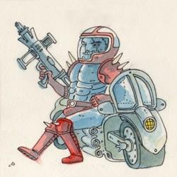 Mach Rider- 8 Bit Dreams   Via  www.campbellwhyte.com