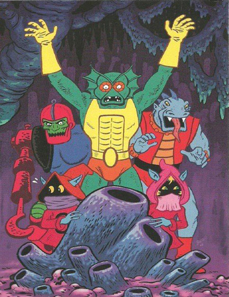 —-comix :     Gilbert Hernandez does  Masters of the Universe .