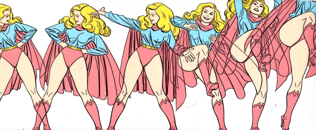 Alex Toth Supergirl model sheet. #inspirado   Viahttp://www.michaelspornanimation.com/splog/?p=2205