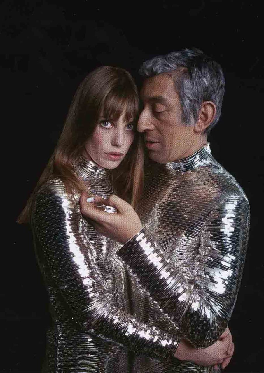 Serge Gainsbourg and Jane Birkin. #savoirefaire #manspiration