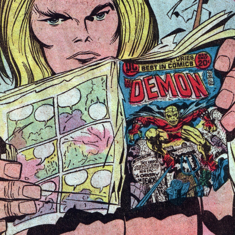 Kamandi #4 featuring The Demon (Jack Kirby & Mike Royer)   Via http://4cp.posterous.com