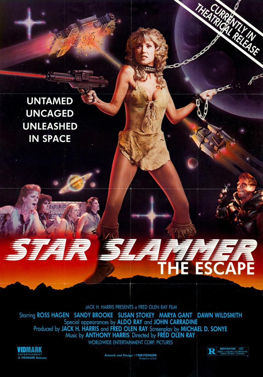 Star Slammer: The Escape.   Via  www.wrongsideoftheart.com