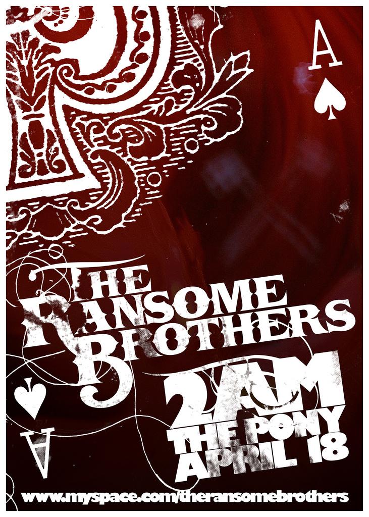 Folio: Ransome Bros Poster