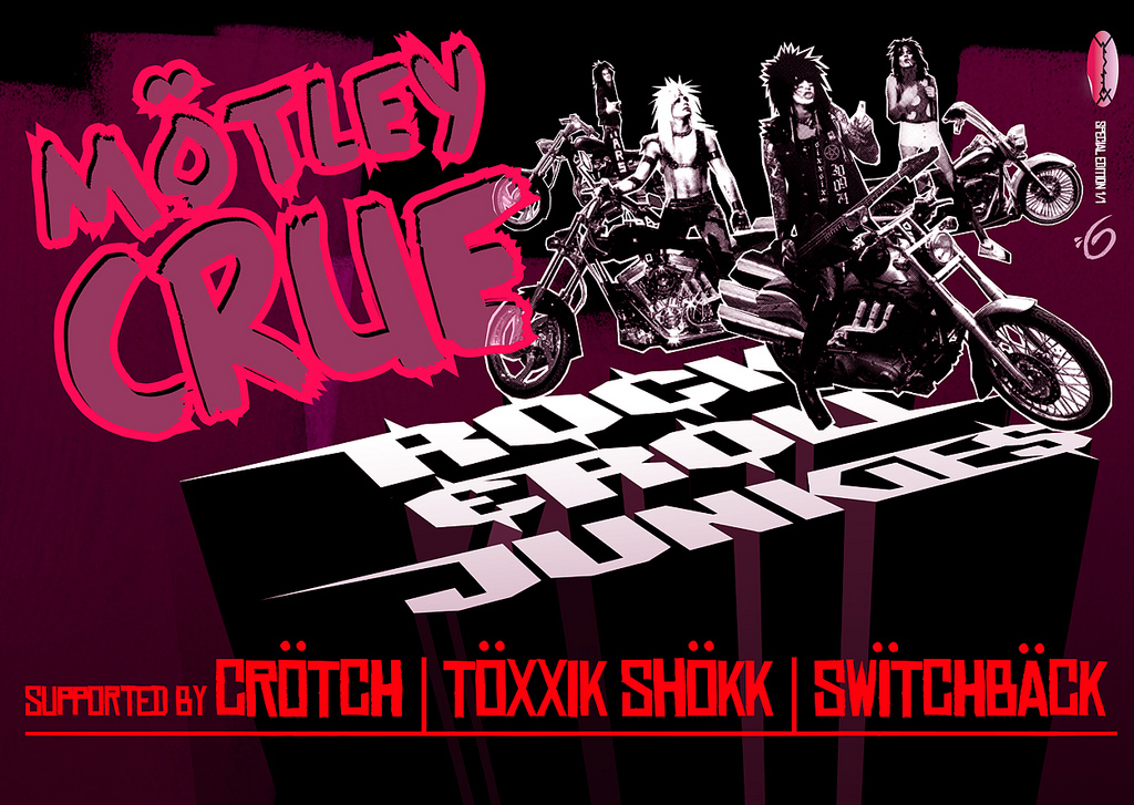Folio: Motley Crue 'Rock 'N Roll Junkies' Poster