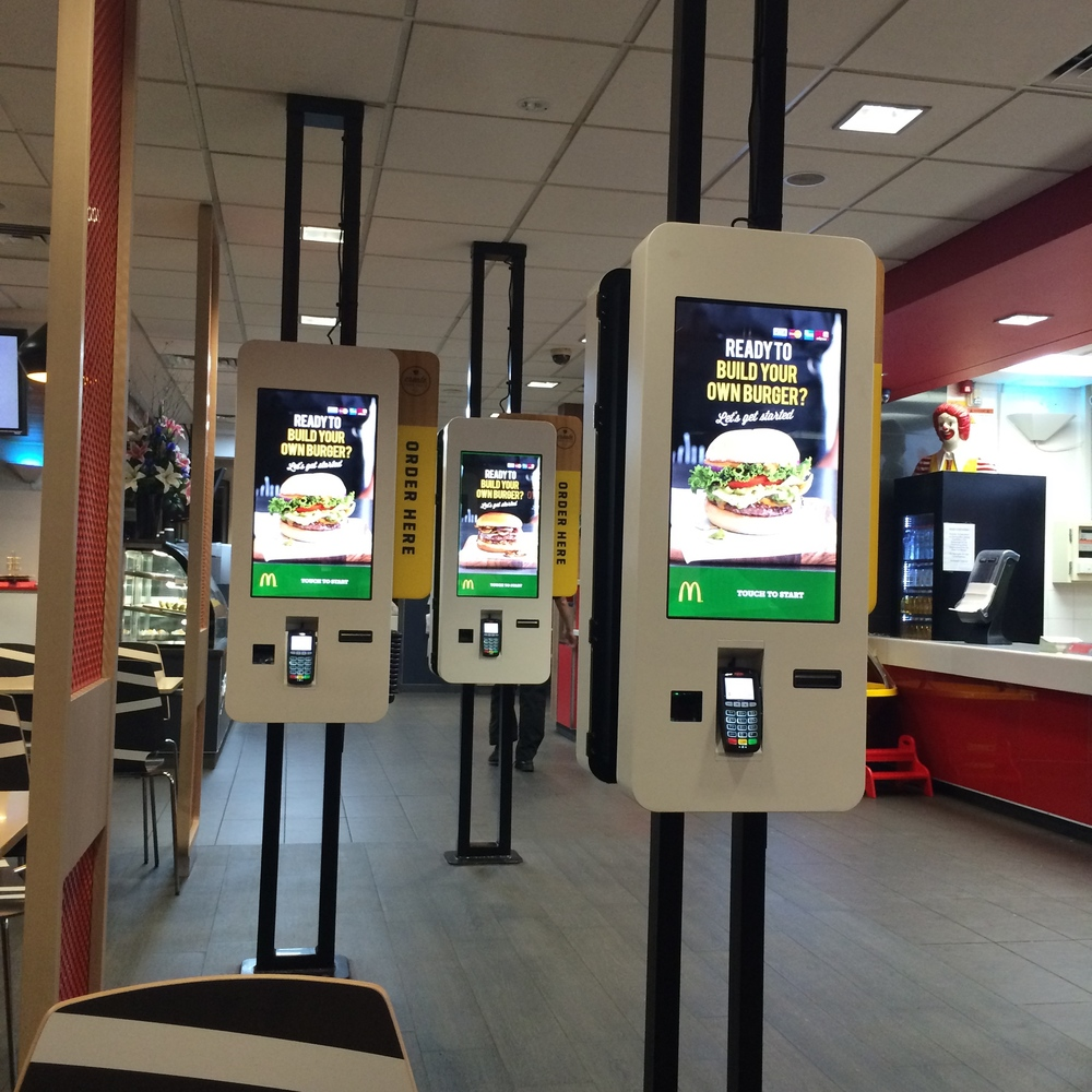 McDonald's Australia's new Create Order Screens - in selected Stores.