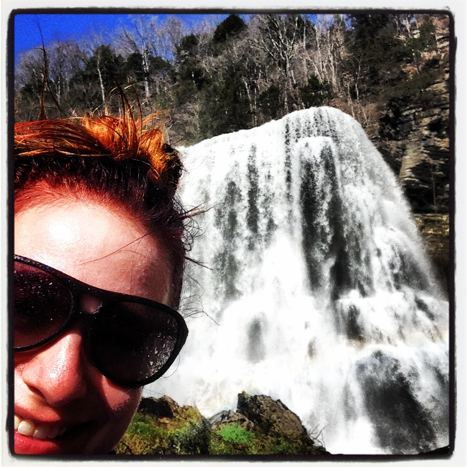 Hike to base of Burgess Falls (March 2014)