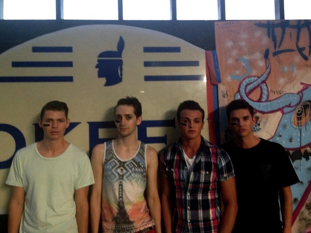 Devin, Nick, Cody, Bradley