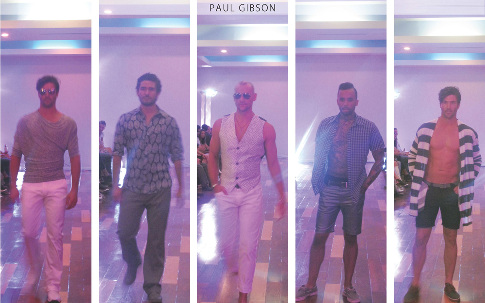 Paulie Gibson: Paul Gibson definitely showed his chic and clean menswear collection that has males all over St. Louis and the world a-buzz. He was the perfect headliner for such a fun event.