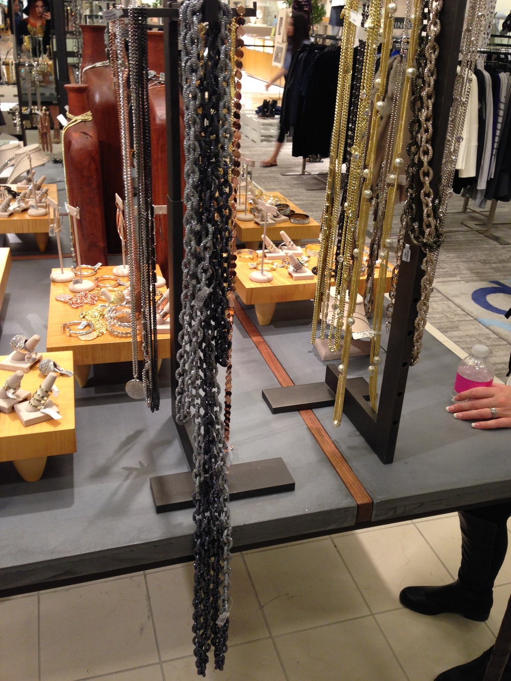 Lisa Freede's jewelry on display at #CUSP in Neiman Marcus! Even you can style yourself like Rihanna with one quick trip!