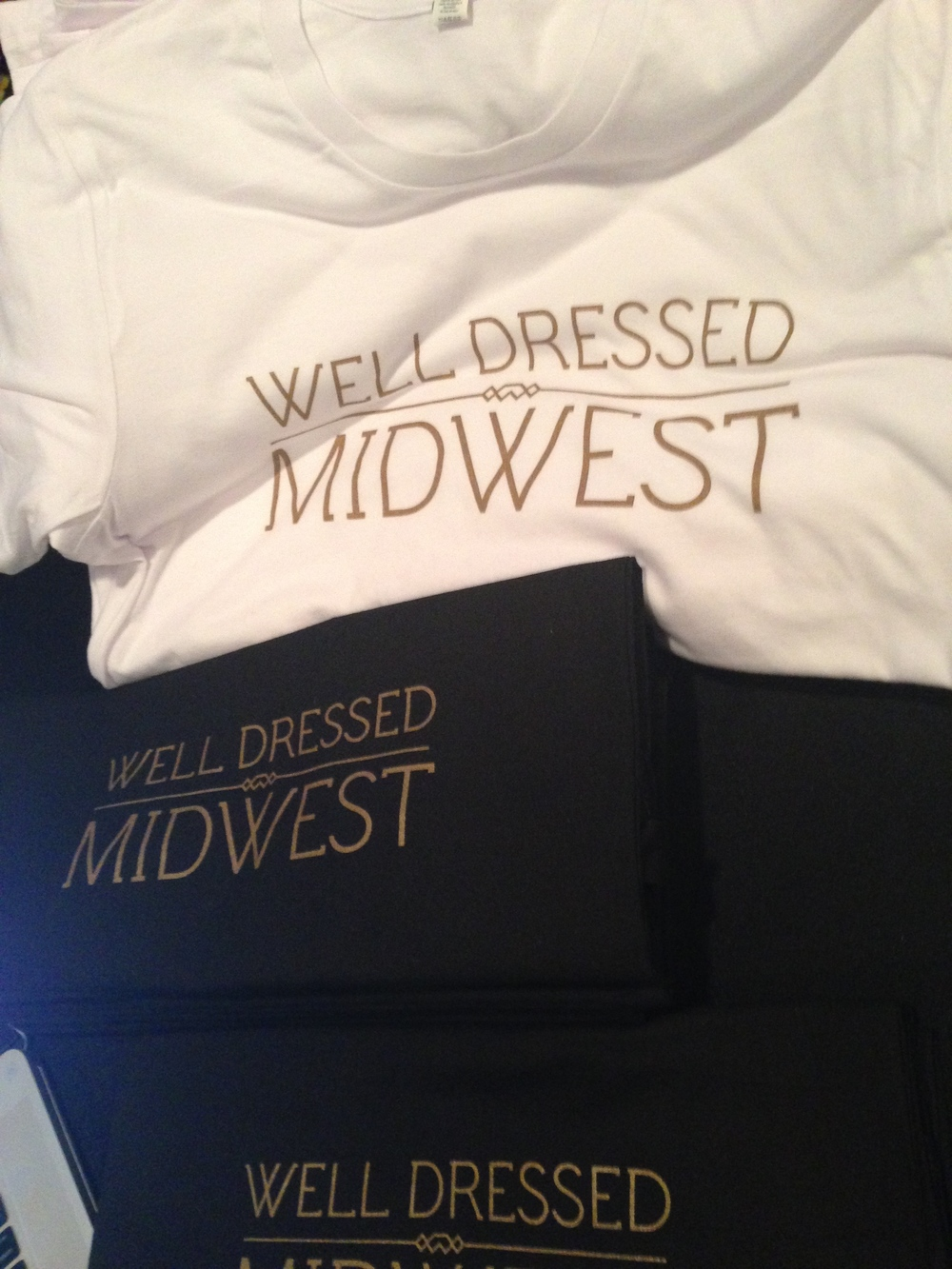 I made sure to grab an inaugural 'Well Dressed Midwest' shirt! I'm so excited to get involved with this organization and learn how to take my blogging to the next level!