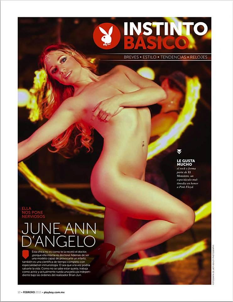 Playboy Mexico, February 2015