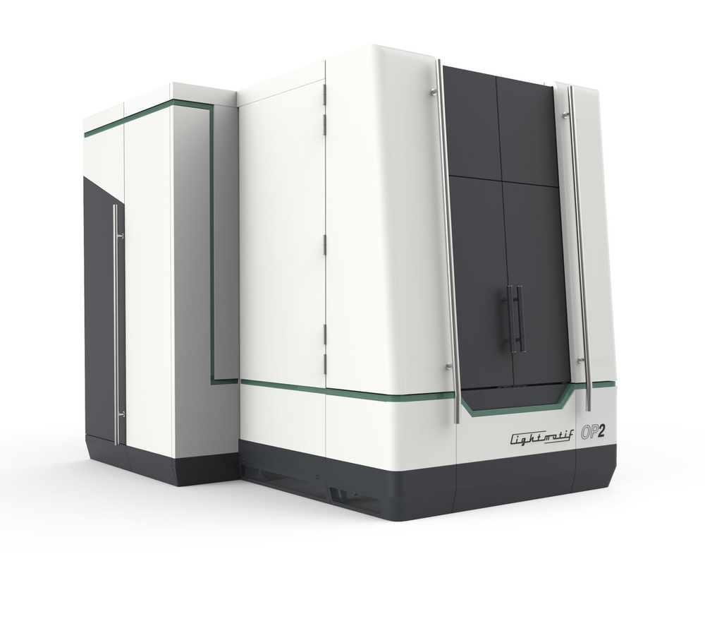 Our 5-axis OP2 system is particularly suited for texturing and micromachining of large 3D shaped objects.
