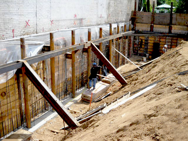 Excavation support specializing in helical piles driven for Wood piling foundation cost